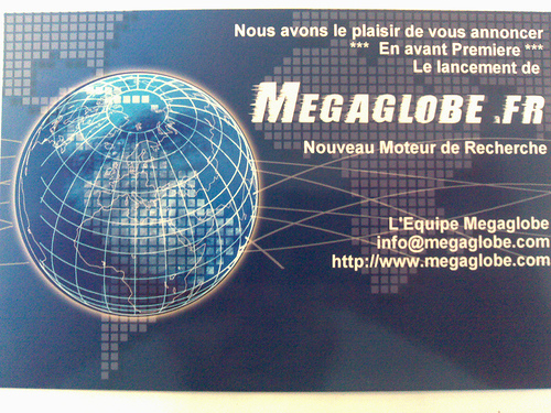 Invitation Megaglobe.fr